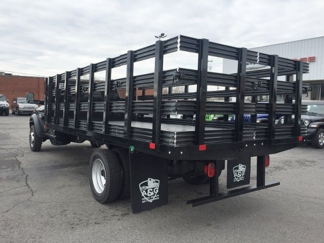 2018 Ram 5500 Regular Cab DRW 4x2,  CM Truck Beds Stake Bed #16928 - photo 2