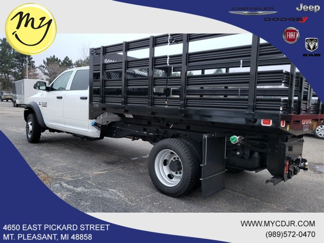 2017 Ram 4500 Crew Cab DRW 4x4,  Knapheide Stake Bed #17348 - photo 3