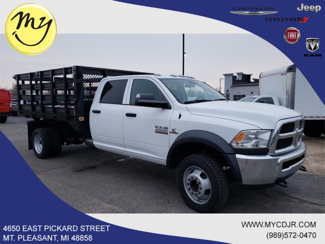 2017 Ram 4500 Crew Cab DRW 4x4,  Knapheide Stake Bed #17348 - photo 4