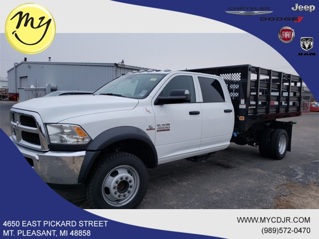 2017 Ram 4500 Crew Cab DRW 4x4,  Knapheide Stake Bed #17348 - photo 5