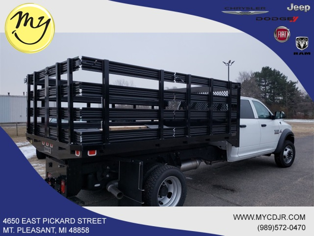 2017 Ram 4500 Crew Cab DRW 4x4,  Knapheide Stake Bed #17348 - photo 8