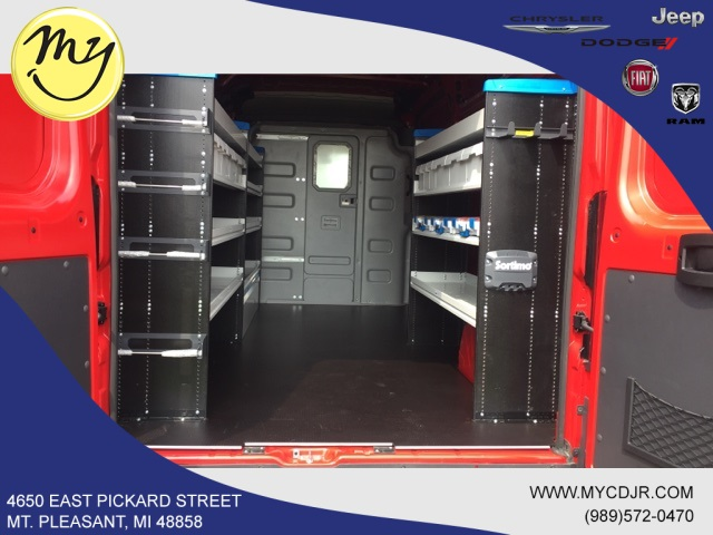 2018 ProMaster 2500 High Roof FWD,  Sortimo Upfitted Cargo Van #18188 - photo 2