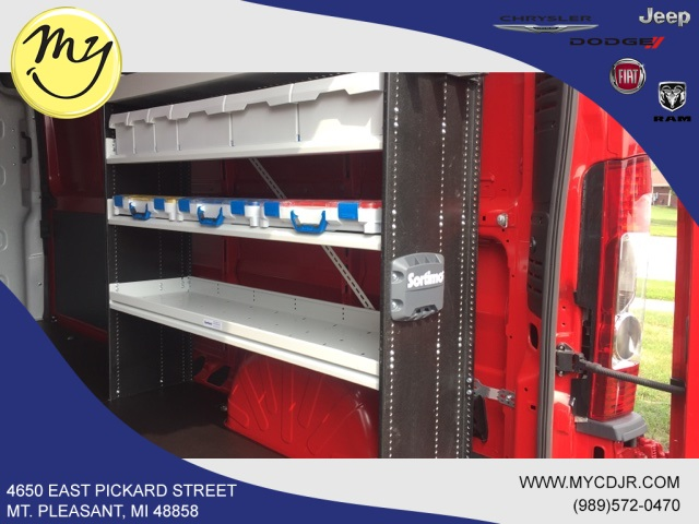 2018 ProMaster 2500 High Roof FWD,  Sortimo Upfitted Cargo Van #18188 - photo 30