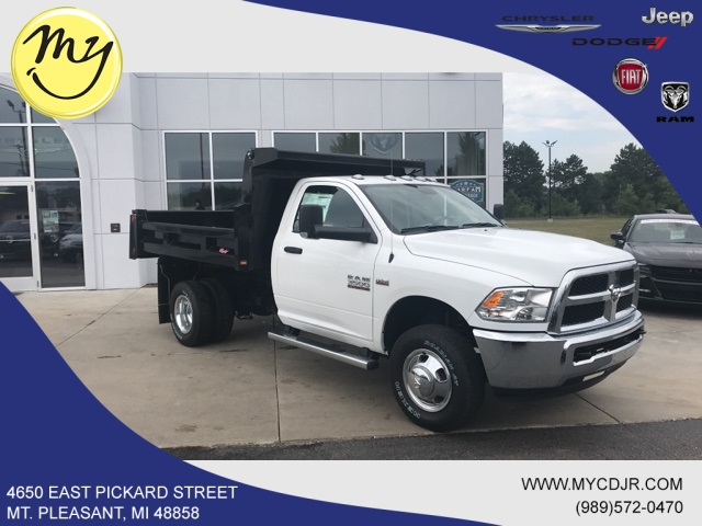 2018 Ram 3500 Regular Cab DRW 4x4,  Rugby Eliminator LP Steel Dump Body #18212 - photo 3