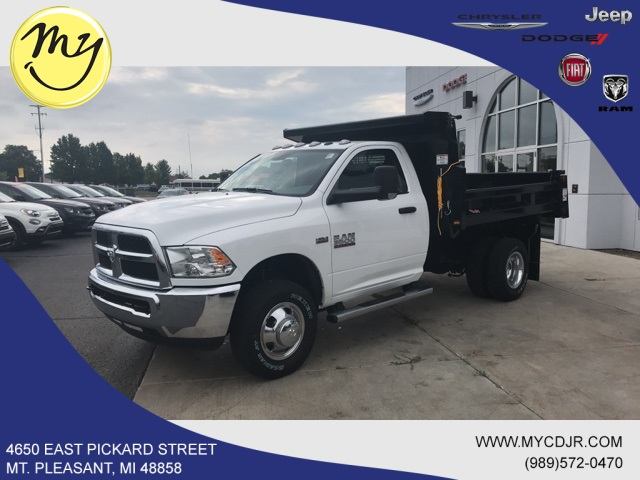 2018 Ram 3500 Regular Cab DRW 4x4,  Rugby Dump Body #18212 - photo 3