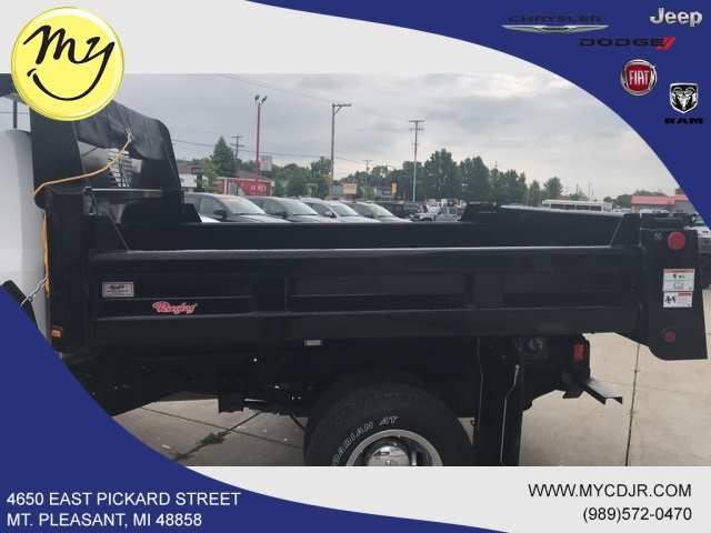 2018 Ram 3500 Regular Cab DRW 4x4,  Rugby Dump Body #18212 - photo 5
