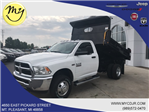 2018 Ram 3500 Regular Cab DRW 4x4,  Rugby Eliminator LP Steel Dump Body #18212 - photo 1