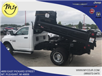 2018 Ram 3500 Regular Cab DRW 4x4,  Rugby Eliminator LP Steel Dump Body #18212 - photo 2