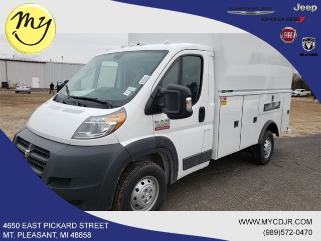 2018 ProMaster 3500 Standard Roof FWD,  Reading Service Utility Van #18233 - photo 3