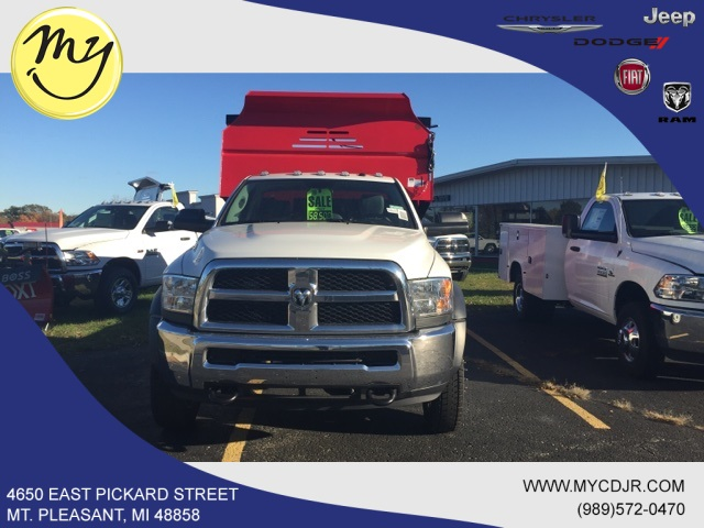 2018 Ram 4500 Regular Cab DRW 4x4,  Monroe Dump Body #18234 - photo 3