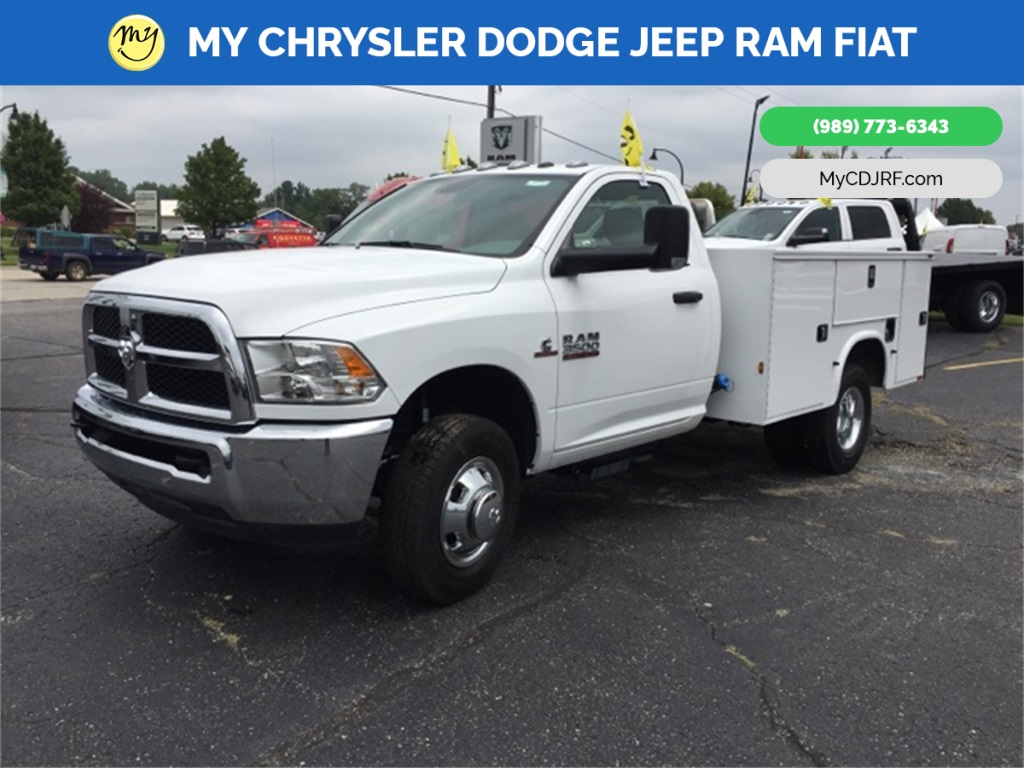 2018 Ram 3500 Regular Cab DRW 4x2,  Knapheide Standard Service Body #18239 - photo 3