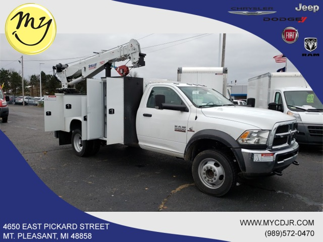 2018 Ram 5500 Regular Cab DRW 4x4,  Knapheide KMT Mechanics Body #18265 - photo 1