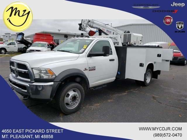 2018 Ram 5500 Regular Cab DRW 4x4,  Knapheide Mechanics Body #18265 - photo 3