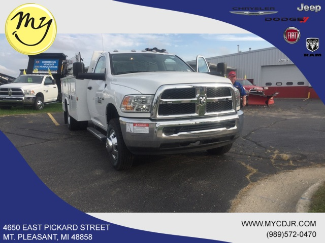 2018 Ram 3500 Regular Cab DRW 4x4,  Knapheide Standard Service Body Mechanics Body #18273 - photo 3