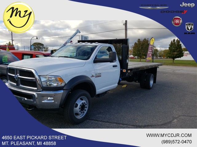 2018 Ram 5500 Regular Cab DRW 4x2,  Knapheide Platform Body #18277 - photo 3