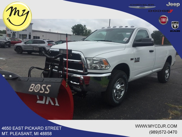 2018 Ram 3500 Regular Cab 4x4,  BOSS Snowplow Pickup #18283 - photo 1