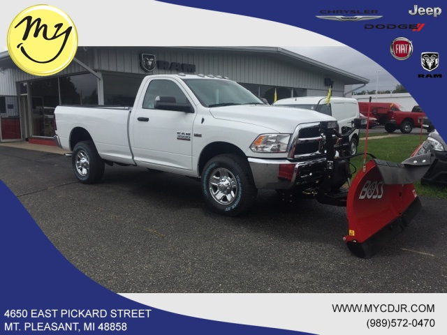 2018 Ram 3500 Regular Cab 4x4,  BOSS Snowplow Pickup #18283 - photo 3