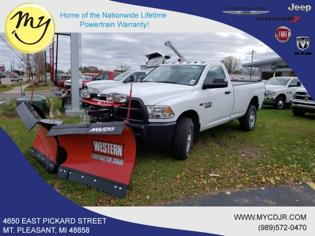 2018 Ram 2500 Regular Cab 4x4,  Western Snowplow Pickup #18306 - photo 1