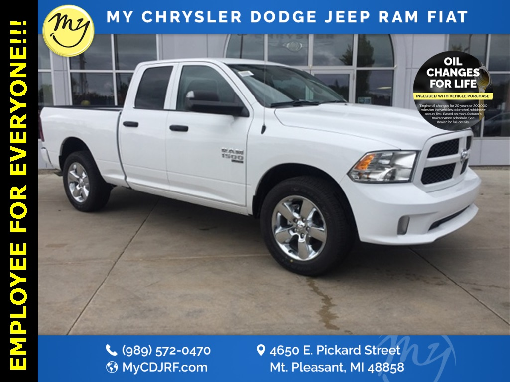 2019 Ram 1500 Quad Cab 4x4, Pickup #19072 - photo 1