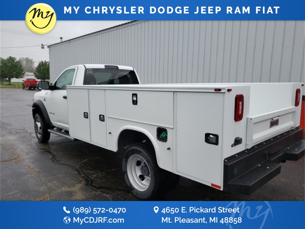 2019 Ram 5500 Regular Cab DRW 4x4, Knapheide Service Body #19407 - photo 1