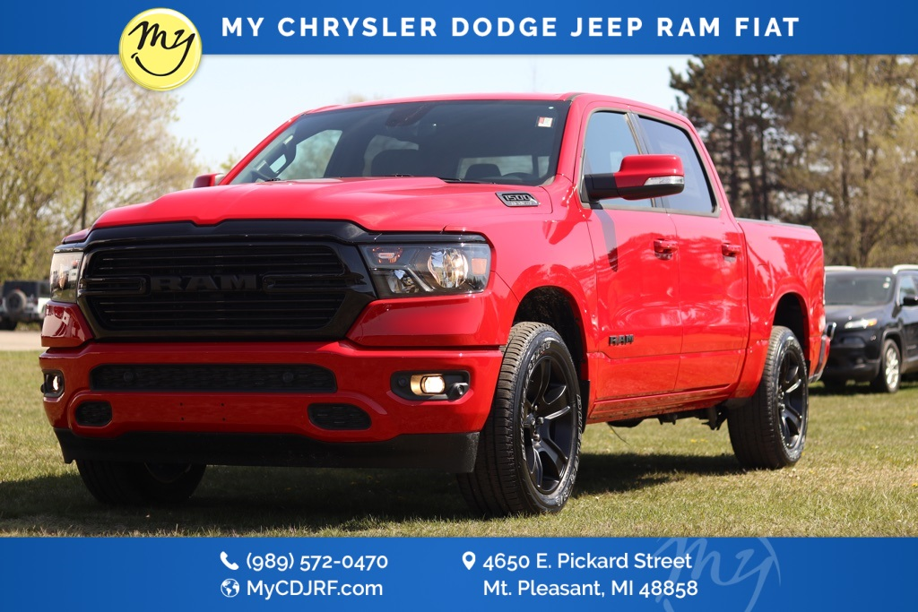 2020 Ram 1500 Crew Cab 4x4, Pickup #20158 - photo 1