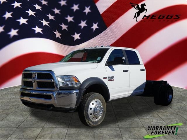 2016 Ram 5500 Crew Cab DRW 4x4, Cab Chassis #GG139465 - photo 1
