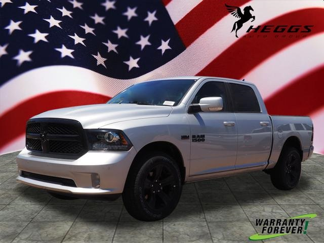 2018 Ram 1500 Crew Cab 4x4,  Pickup #JS244179 - photo 1