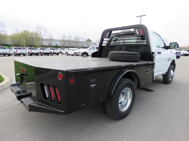 2017 Ram 3500 Regular Cab DRW 4x4,  Platform Body #FA1009 - photo 4