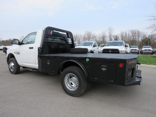 2017 Ram 3500 Regular Cab DRW 4x4,  Platform Body #FA1009 - photo 2