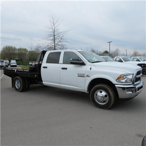 2017 Ram 3500 Crew Cab DRW 4x4,  Hillsboro GI Steel Platform Body #FB1192 - photo 4