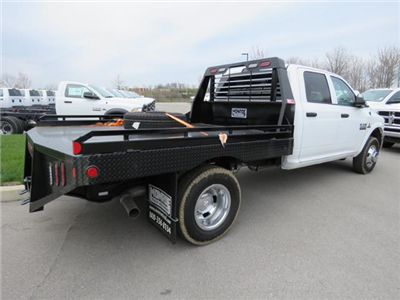 2017 Ram 3500 Crew Cab DRW 4x4,  Hillsboro GI Steel Platform Body #FB1192 - photo 6