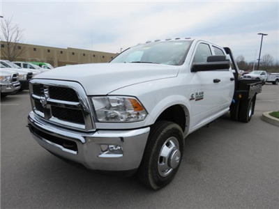 2017 Ram 3500 Crew Cab DRW 4x4,  Hillsboro GI Steel Platform Body #FB1192 - photo 1