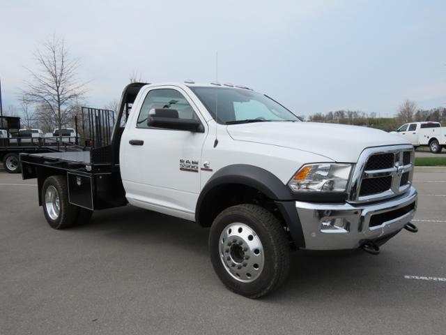 2017 Ram 5500 Regular Cab DRW 4x4,  Wil-Ro Platform Body #FB1234 - photo 3