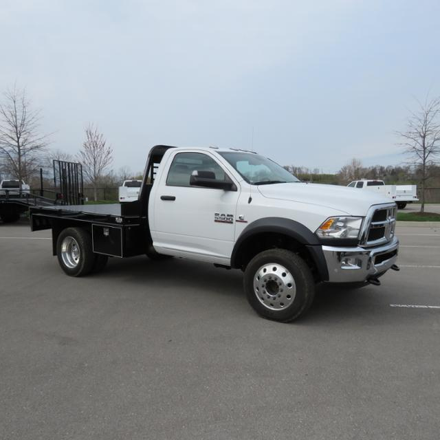 2017 Ram 5500 Regular Cab DRW 4x4,  Wil-Ro Platform Body #FB1234 - photo 4