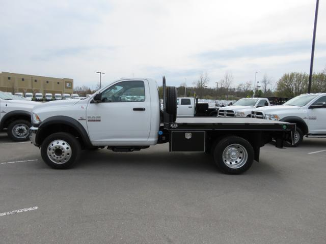 2017 Ram 5500 Regular Cab DRW 4x4,  Wil-Ro Platform Body #FB1234 - photo 8