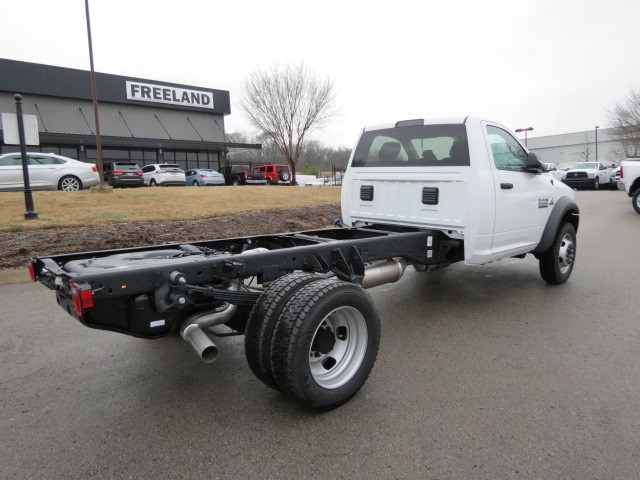 2018 Ram 5500 Regular Cab DRW 4x4,  Cab Chassis #FC1027 - photo 2