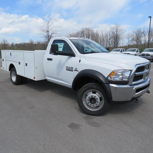 2018 Ram 5500 Regular Cab DRW 4x4,  Warner Service Body #FC1113 - photo 4