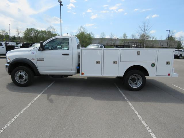 2018 Ram 5500 Regular Cab DRW 4x4,  Warner Service Body #FC1113 - photo 8
