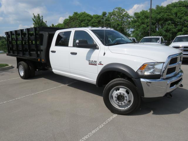 2018 Ram 5500 Crew Cab DRW 4x2,  Freedom Stake Bed #JG209902 - photo 3