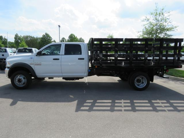 2018 Ram 5500 Crew Cab DRW 4x2,  Freedom Stake Bed #JG209902 - photo 7