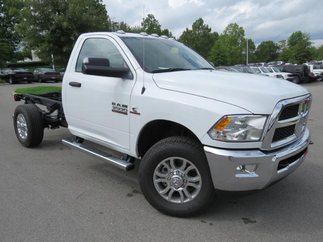 2018 Ram 3500 Regular Cab 4x4,  Cab Chassis #JG213208 - photo 3