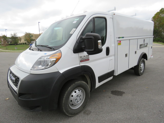 2019 Ram ProMaster 3500 Standard Roof FWD, Reading Service Utility Van #KE522130 - photo 1