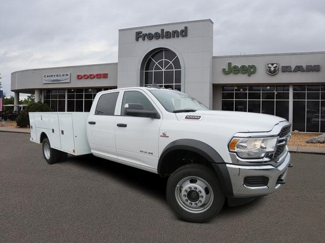 2019 Ram 5500 Crew Cab DRW 4x4, Warner Service Body #KG583100 - photo 1