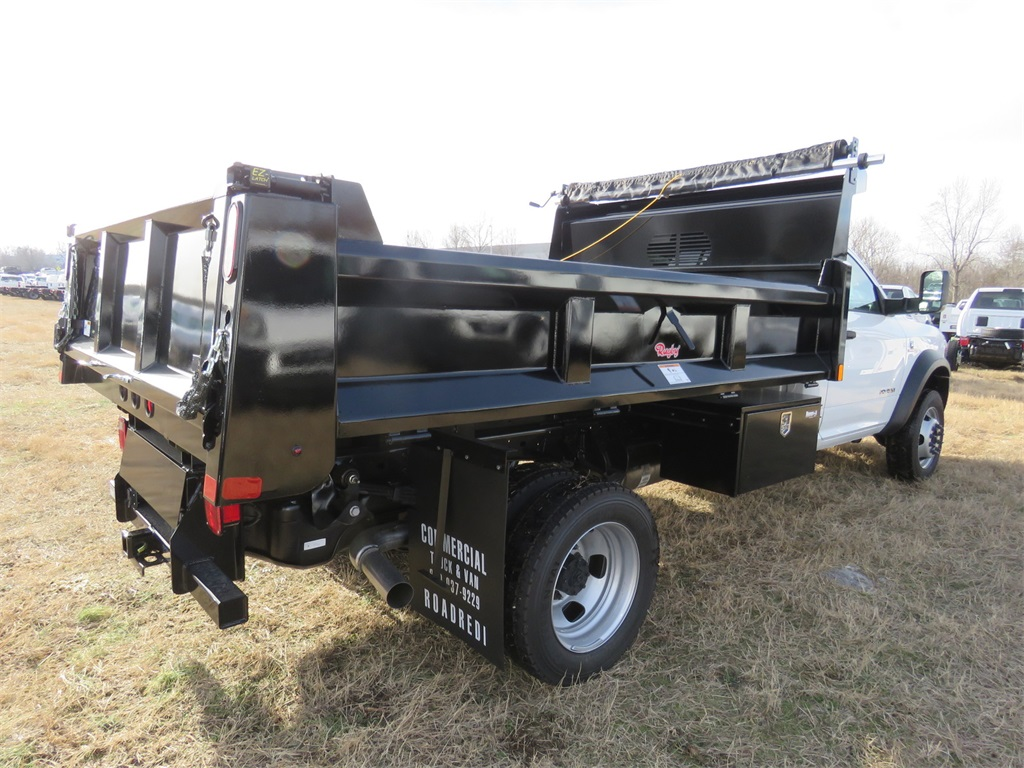 2019 Ram 5500 Regular Cab DRW 4x4, Rugby Dump Body #KG583122 - photo 1