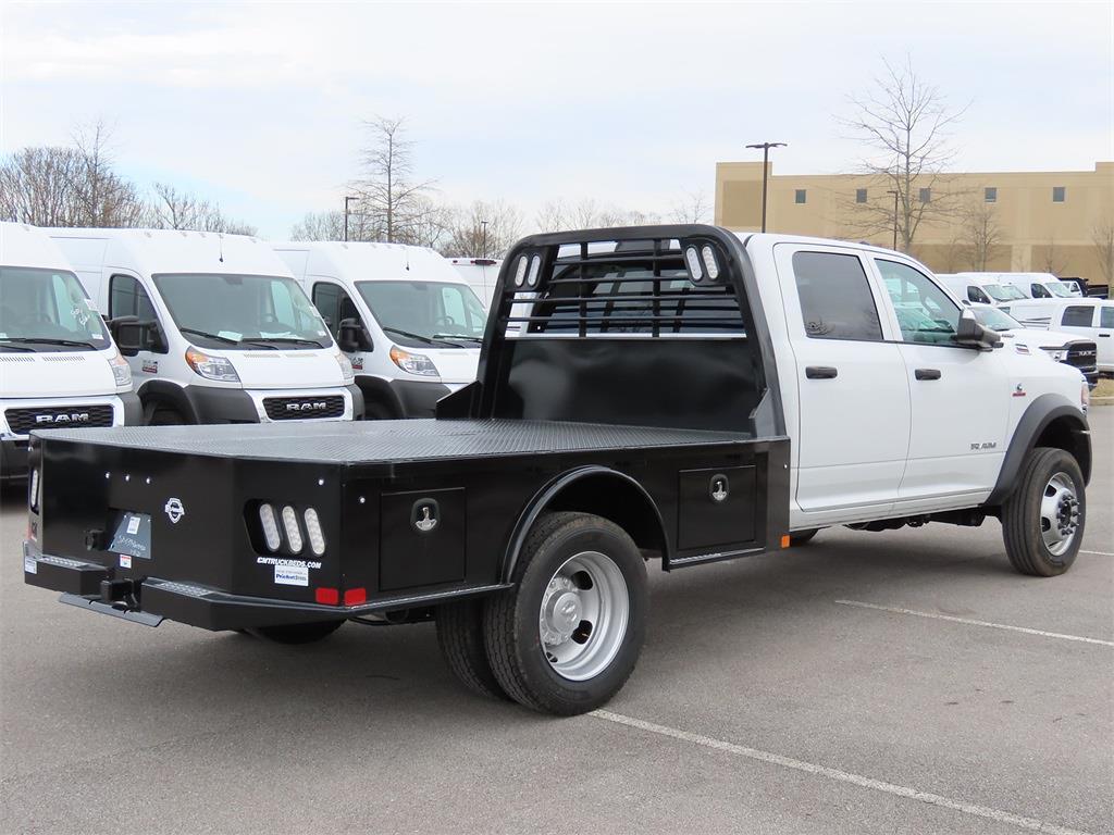 2021 Ram 5500 Crew Cab DRW 4x4, CM Truck Beds Platform Body #MG520940 - photo 1