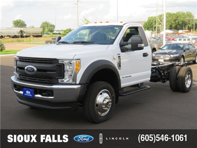 2017 F-550 Regular Cab DRW 4x4 Cab Chassis #T79065 - photo 1
