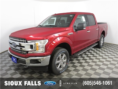 2018 F-150 Crew Cab 4x4 Pickup #T79577 - photo 1