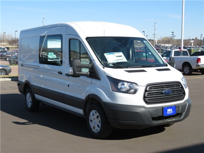2018 Transit 250 Med Roof 4x2,  Empty Cargo Van #T81242 - photo 4