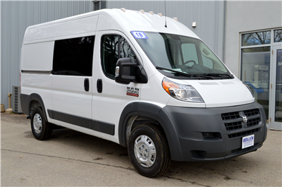 2018 ProMaster 2500 High Roof 4x2,  Empty Cargo Van #JE110972 - photo 1