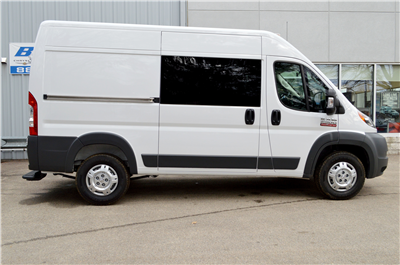 2018 ProMaster 2500 High Roof 4x2,  Empty Cargo Van #JE110972 - photo 3
